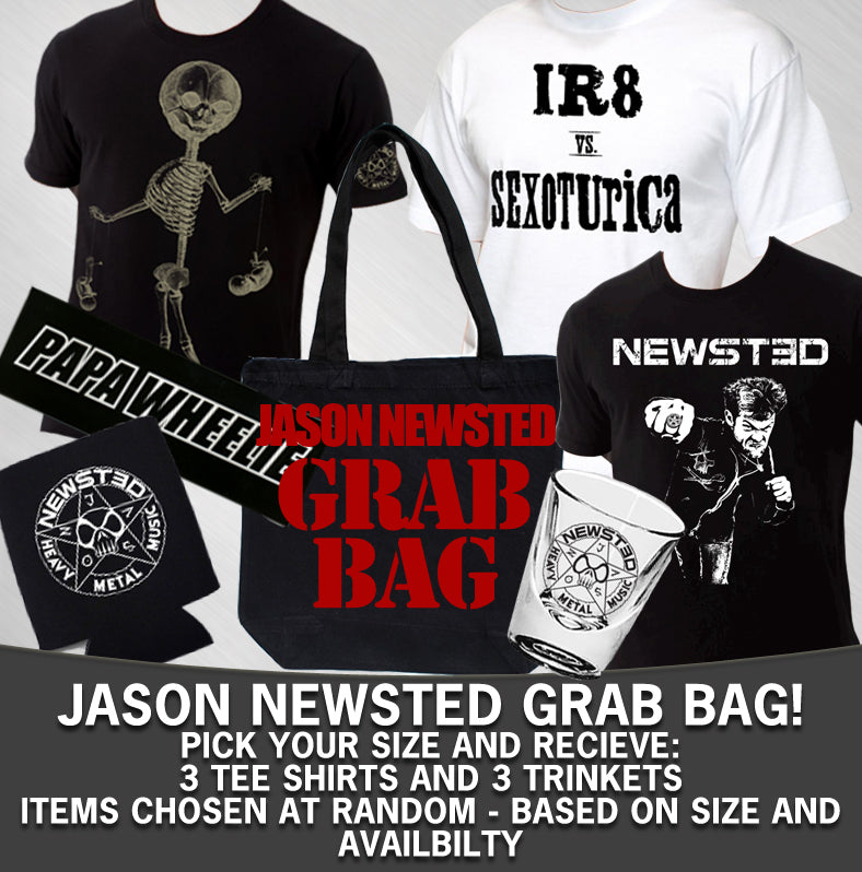JASON NEWSTED - THE NEWSTED MEN'S GRAB BAG