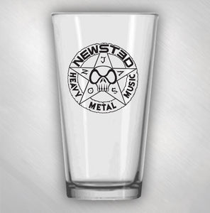 JASON NEWSTED - STAR LOGO PINT GLASS