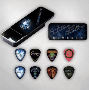 Guitar Pick Tin w/ 8 Picks