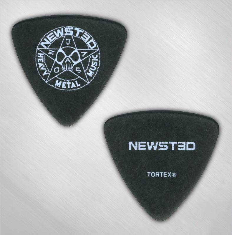 JASON NEWSTED - NEWSTED/STAR LOGO BASS PICK
