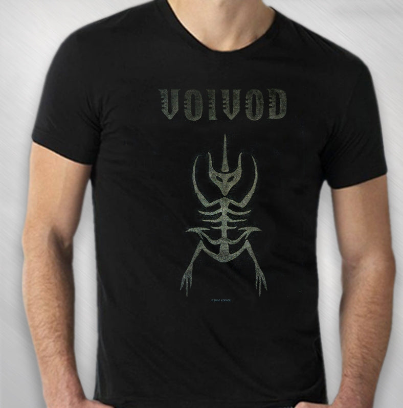 VOIVOD - MEN'S VOIVOD BLACK / GREY LOGO HD TEE