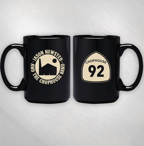 JASON NEWSTED AND THE CHOPHOUSE BAND - BLACK LOGO MUG