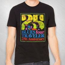 "Load image into Gallery viewer, Men's ""FOUR"" 25th Ann. Tee- Front Only"