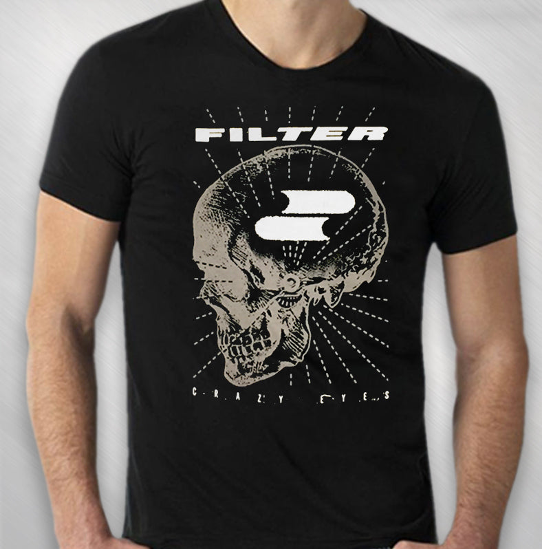 2016 Men's Black Zoom Zoom Skull Tour Tee