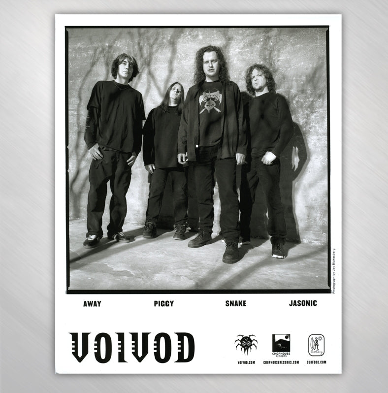 VOIVOD - BAND PHOTO 8 X 10