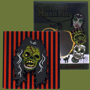 Monster Mash Enamel Pin