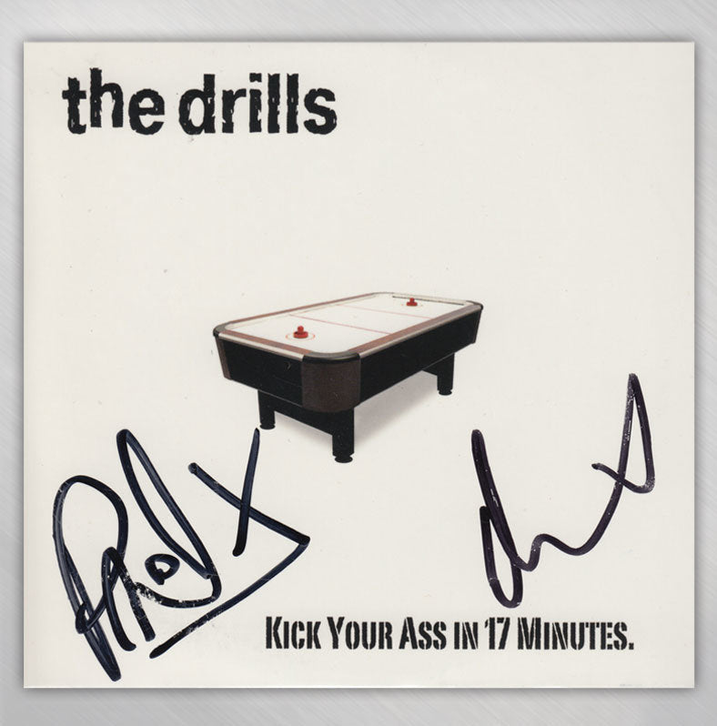 Signed Kick Your Ass In 17 Minutes CD