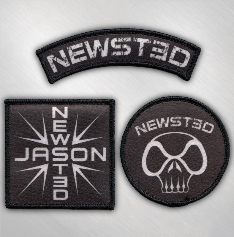 JASON NEWSTED - 3 PATCH SET