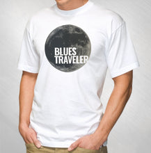 Load image into Gallery viewer, BLUES TRAVELER - 2016 MEN'S WHITE GREY MOON TOUR TEE