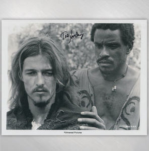 TED & CARL - THE JUDAS KISS 8X10 SIGNED