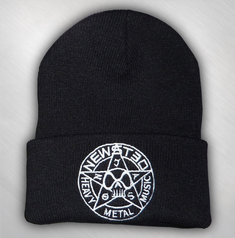 JASON NEWSTED - STAR LOGO CUFFED BEANIE