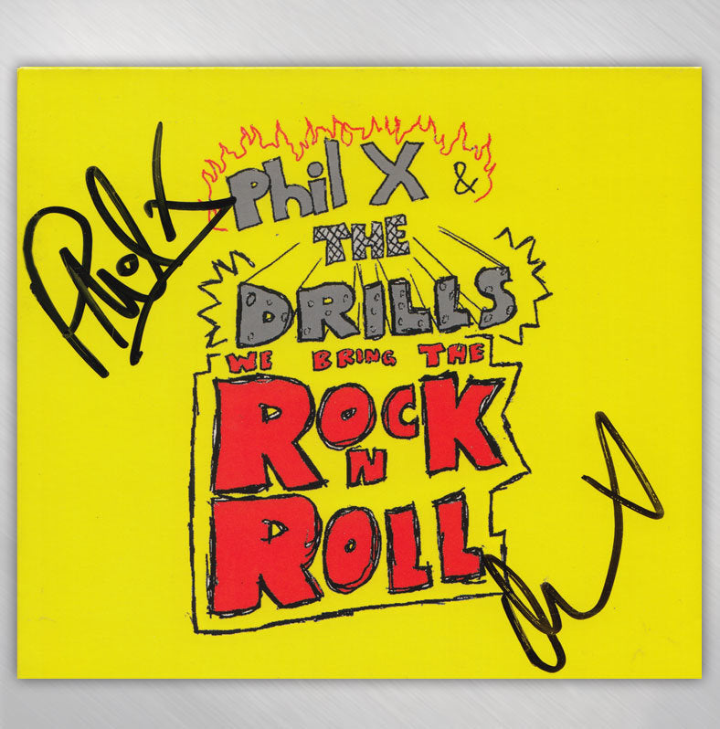 Signed We Bring The Rock N Roll CD