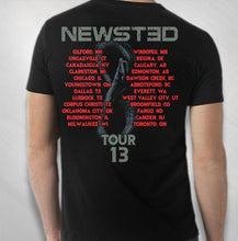 Load image into Gallery viewer, JASON NEWSTED - 2013 MEN'S PHOTO - GIGANTOUR TOUR TEE
