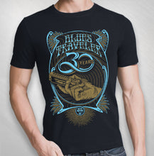 Load image into Gallery viewer, BLUES TRAVELER - 2017 MEN'S 30TH ANNIVERSARY HARMONICA TOUR TEE