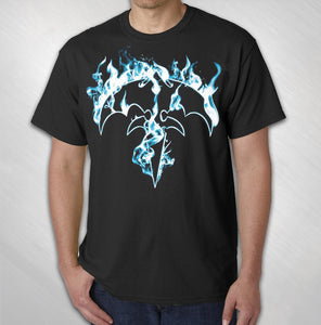 Men's Flaming Tri-ryche Tee