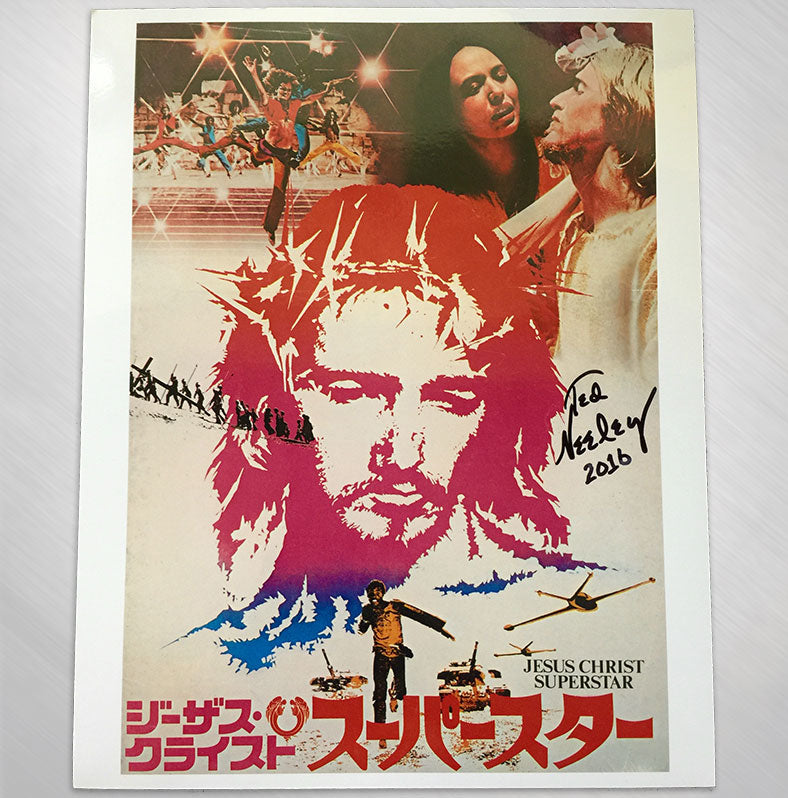 Japanese Poster Reproduction 8x10- SIGNED