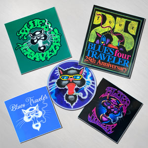 Blues Traveler - Sticker Pack