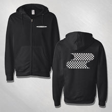 Load image into Gallery viewer, Filter Checkered Logo Hoodie