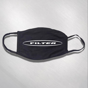 Filter Oval Logo Face Mask