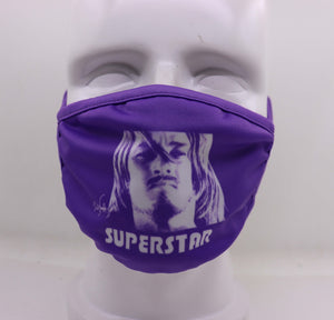 Ted Neeley 2020 Face Mask Version #2