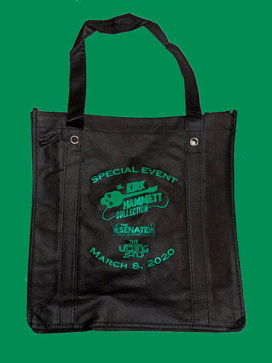 Kirk Hammett Collection The SENATE TWB Music Tote Bag