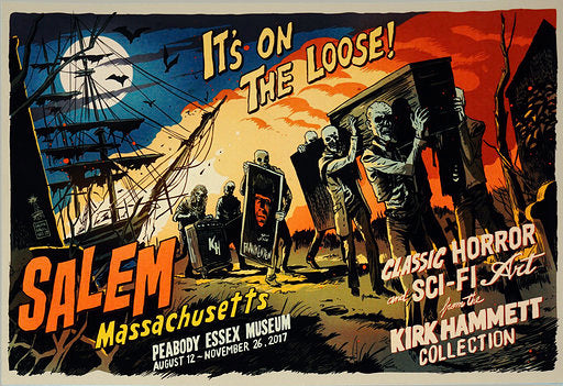 It's On The Loose! Classic Horror and Sci-Fi Art from the Kirk Hammett Collection Fine Art Giclee Print