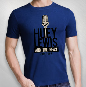 2014 Royal Blue Mic Logo Tee