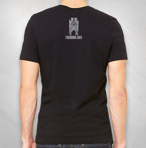 "Black ""Music of Zebra"" Symphony Tee"