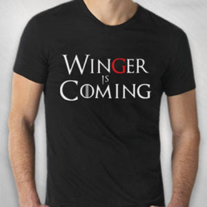 Men's Winger Is Coming Tee