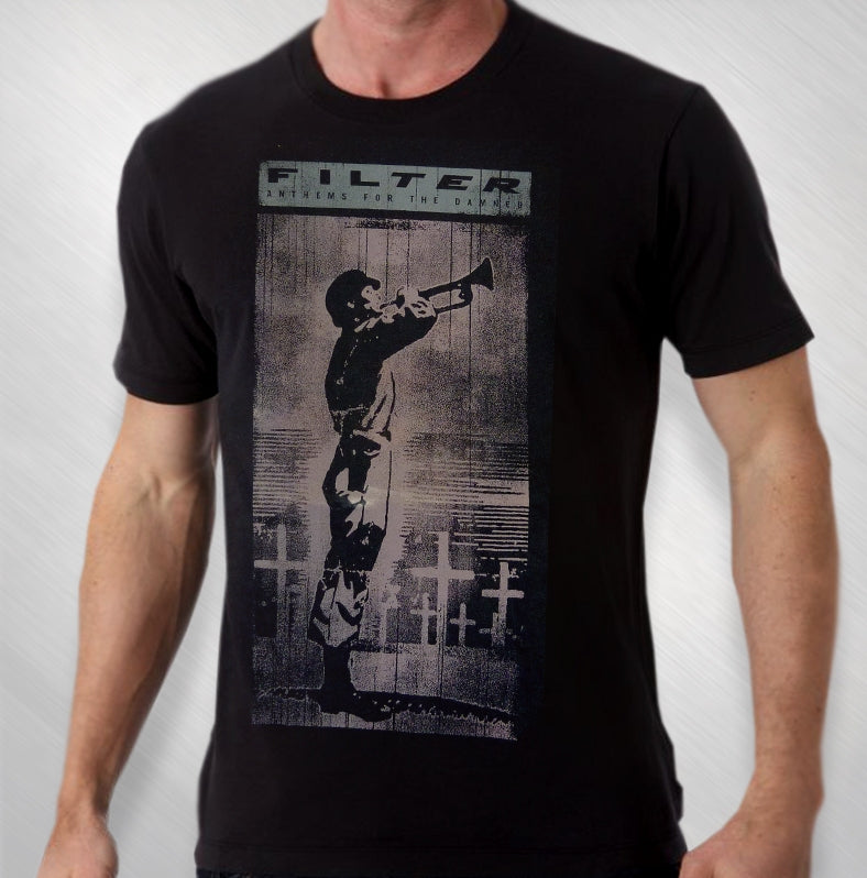 Men's Black Anthems Tee