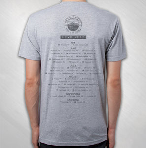 2015 Grey Golden Gate Stamp Tour Tee