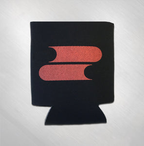 Red Logo Koozie