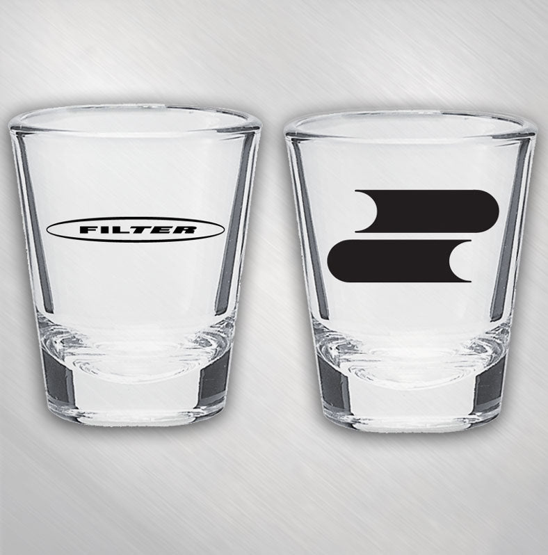 Zoom Zoom Logo Shot Glass
