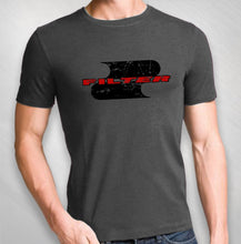Load image into Gallery viewer, Men's Charcoal S Logo Mens Tee