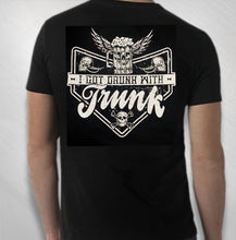 Load image into Gallery viewer, Men's Drunk With Trunk Metal Wings Tee
