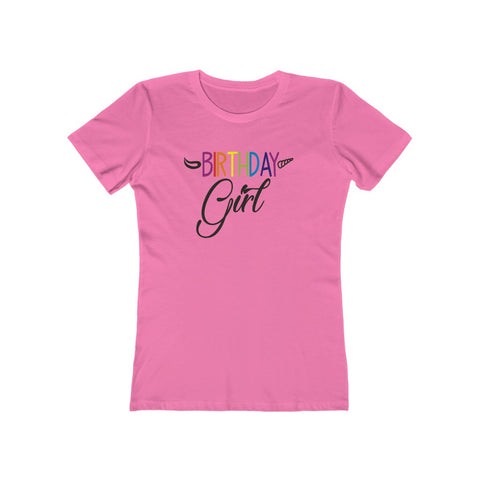 Birthday Girl Women's The Boyfriend Tee