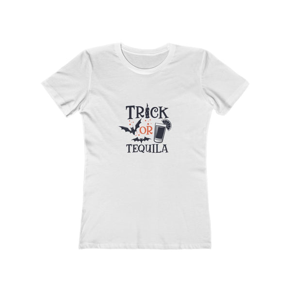 Trick or Tequila Women's The Boyfriend Tee