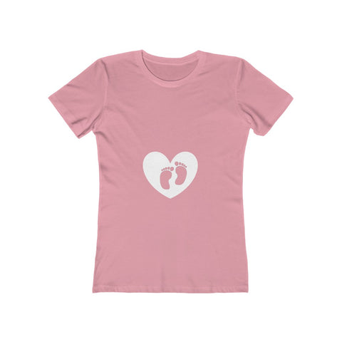Baby steps. Women's The Boyfriend Tee
