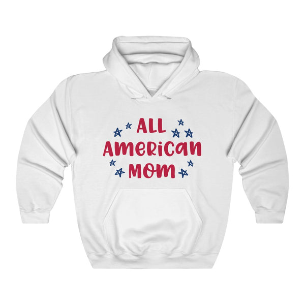 All american mom Unisex Heavy Blend™ Hooded Sweatshirt