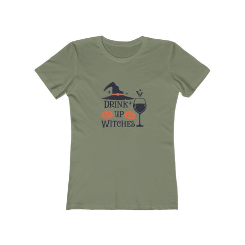 Drink Up Witches Women's The Boyfriend Tee