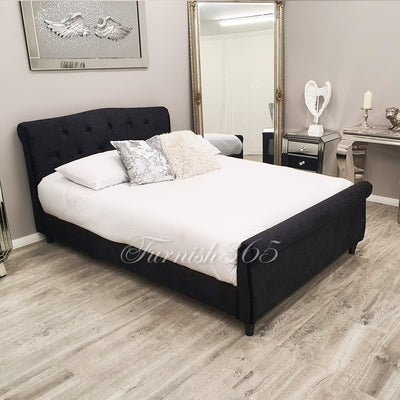 Milan 1607 King Size Black