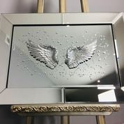Angel Wings On Mirror 72.5 x 51.65