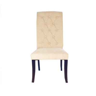 Sienna Dining Chair Cream Linen