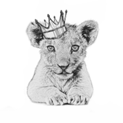 Tiger Cub Crown Artwork