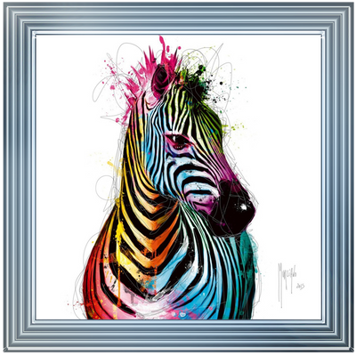 Zebra (Patrice) Artwork