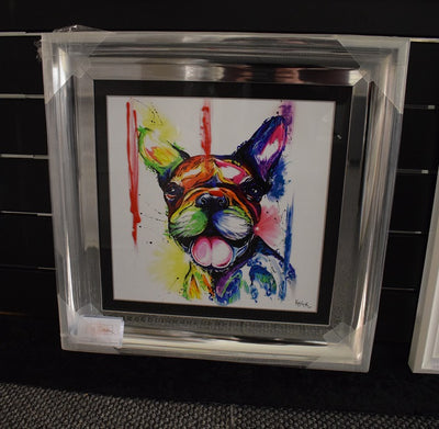 French Bulldog Watercolour Artwork