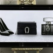 G Designer Trio -Perfume, Bag, Shoes Artwork