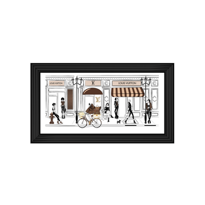 Designer Cartoon Shop Front I