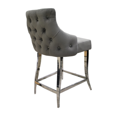 Capri Button Backed Bar Stool