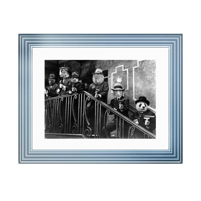 Gangster Animals On Stairs (CL)